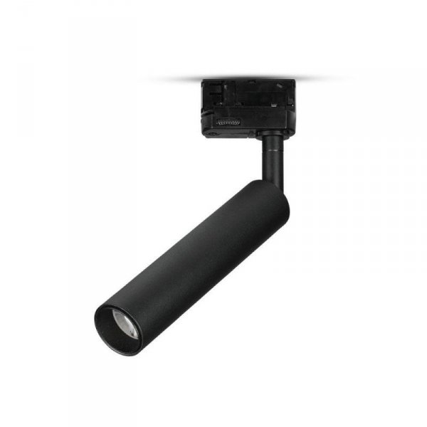 Oprawa 20W LED V-TAC Track Light SAMSUNG CHIP CRI90+ Czarna VT-420 5000K 1600lm 5 Lat Gwarancji