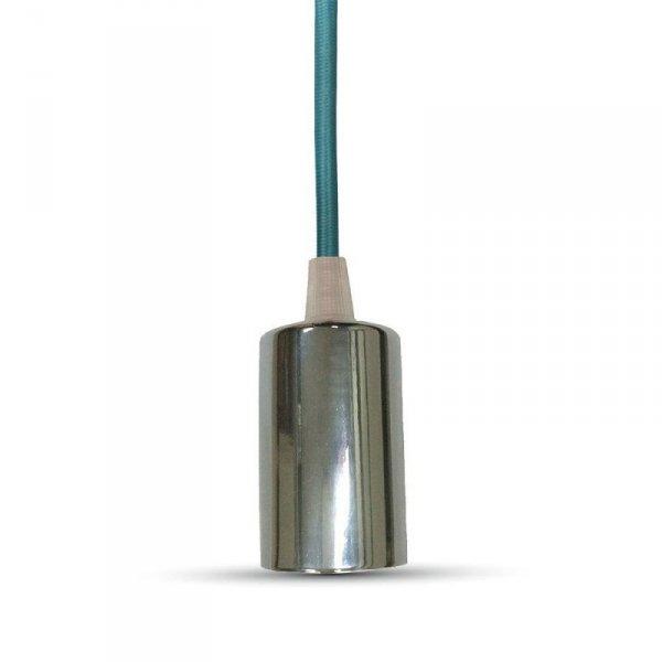 Oprawa Wisząca V-TAC Chrom Metal Brązowy przewód VT-7338 5 Lat Gwarancji