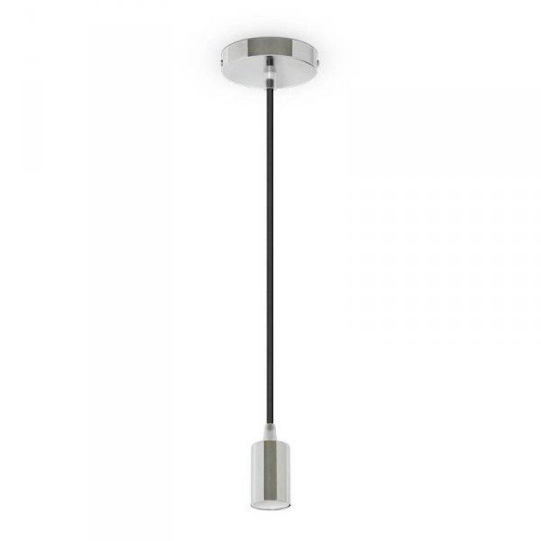 Oprawa Wisząca V-TAC Chrom Metal Fioletowy przewód VT-7338 5 Lat Gwarancji