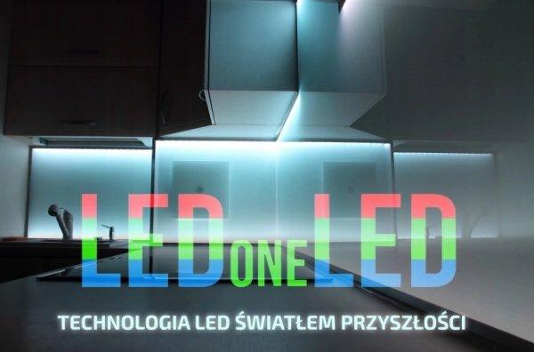 Taśma LED COB 12V 10W/m 384diod/m -ciepła barwa 1m