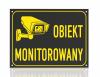 Tablica obiekt monitorowany 42/29,7cm