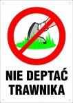 Nie deptać trawnika