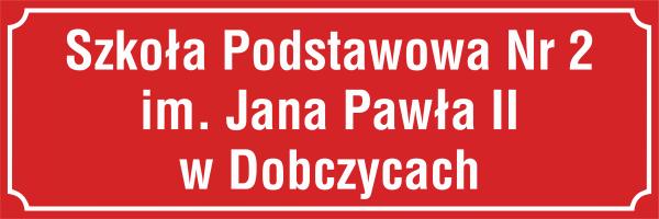Tablica urzędowa Szkoła Podstawowa
