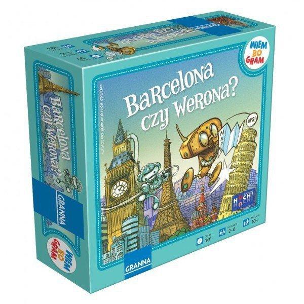 Gra Barcelona czy Werona?