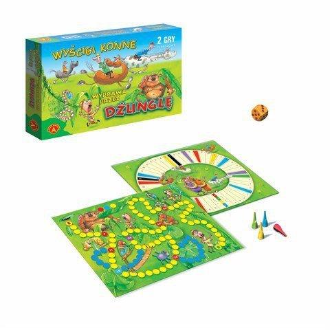 Gra Wyścigi Konne - Dżungla