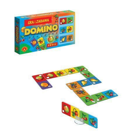 Gra Domino Owoce