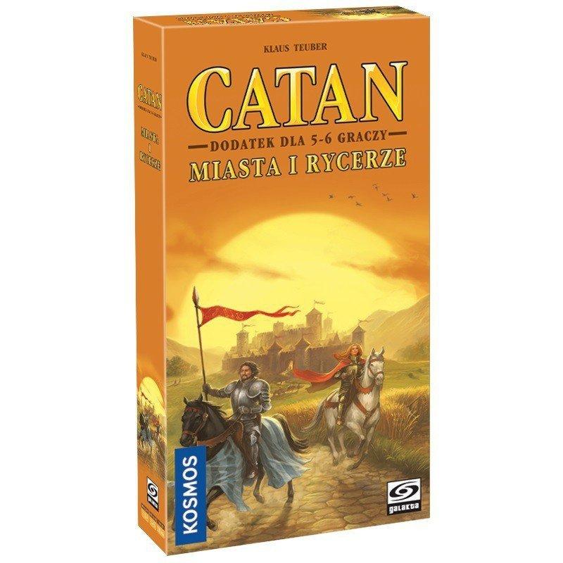 Gra Catan - Miasta i Rycerze dodatek dla 5-6 graczy