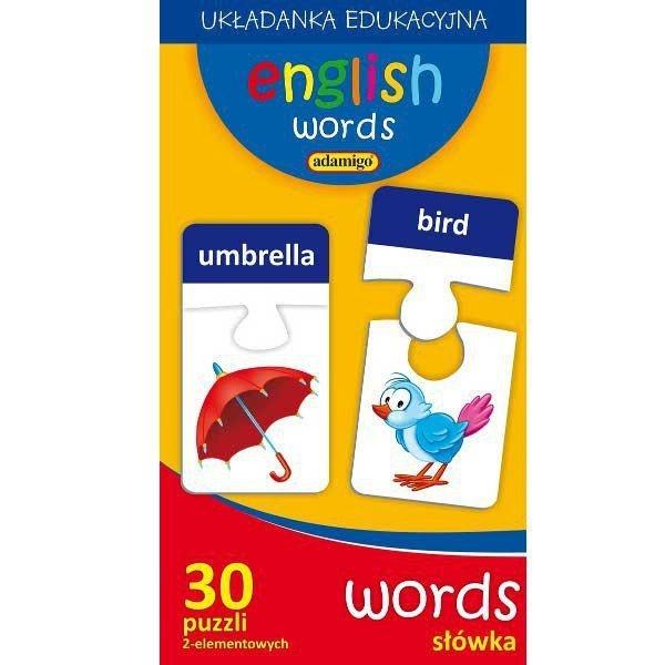 Puzzle Edukacyjne Słówka