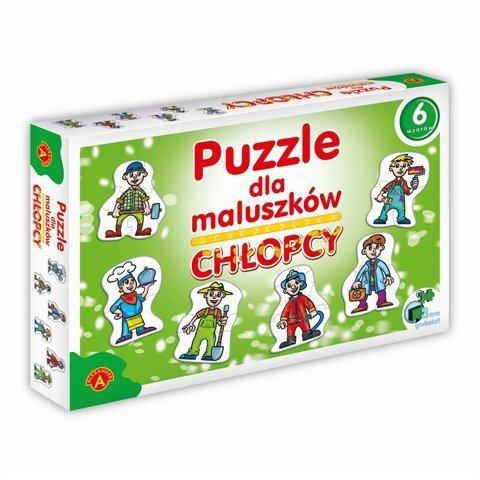 Puzzle dla Maluszków - Chłopcy