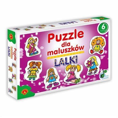 Puzzle dla Maluszków - Lalki