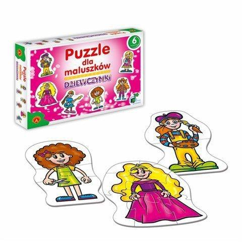 Puzzle dla Maluszków - Dziewczynki