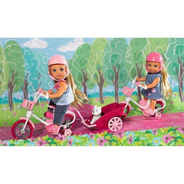 EVI na rowerze turystycznym