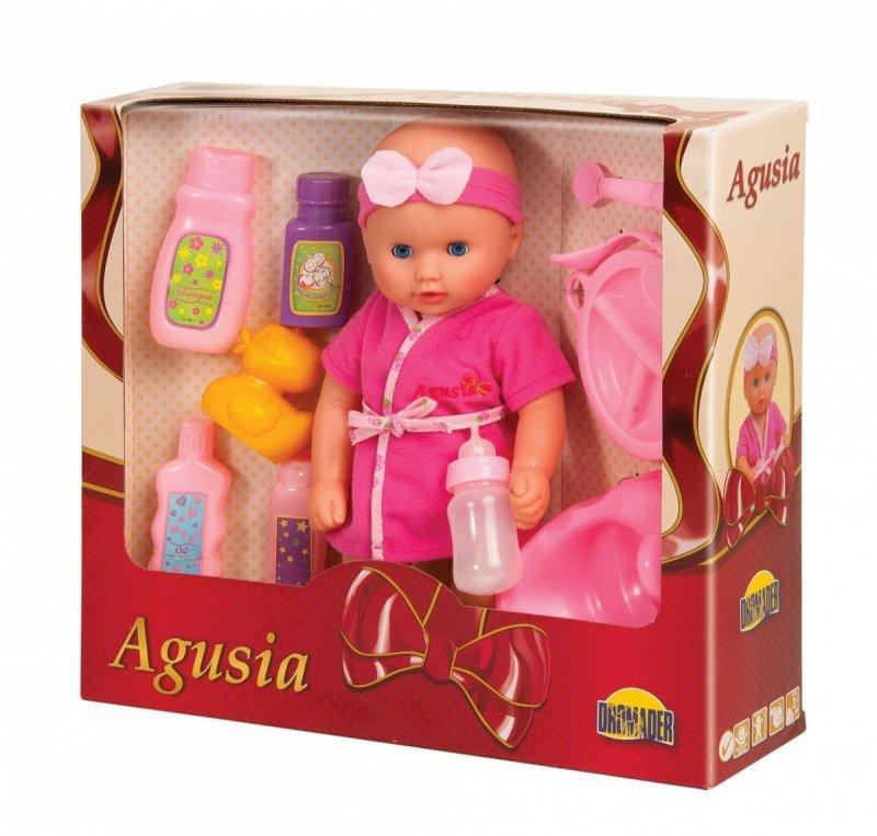 Lalka Agusia 29 cm, Pije i siusia
