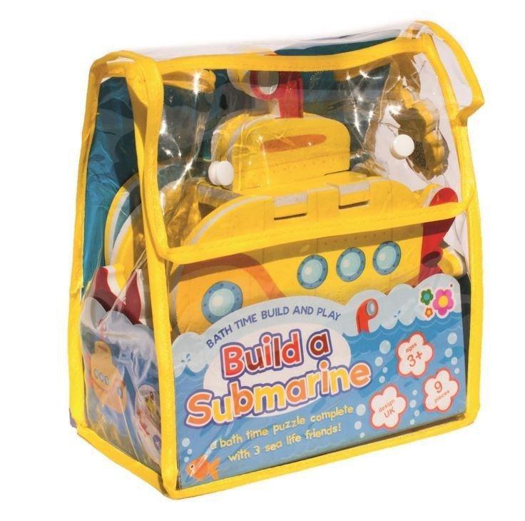 Puzzle do zabawy w kąpieli - lódź podwodna