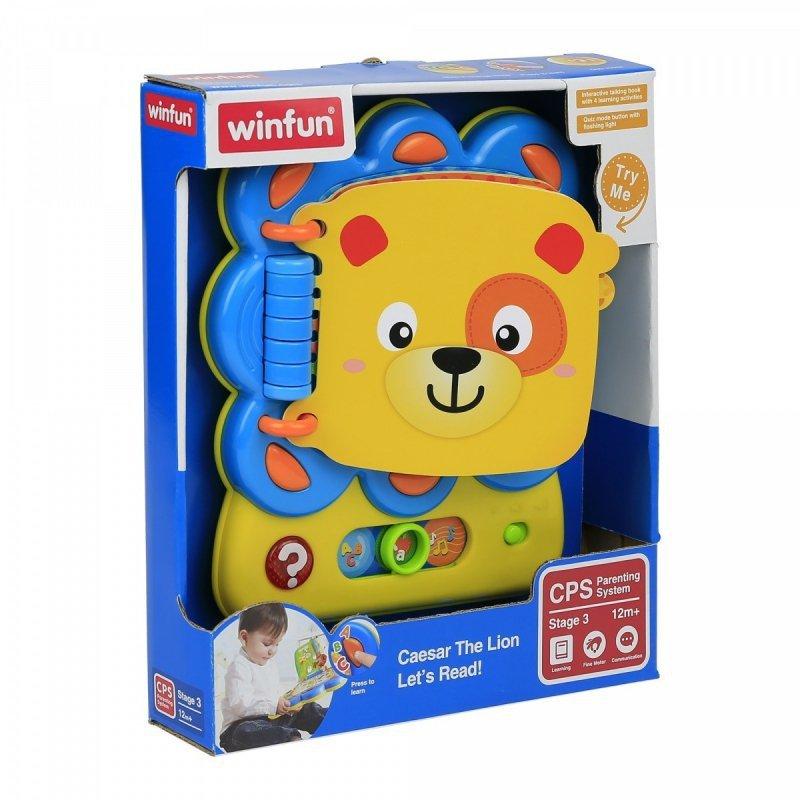 Winfun Lwie zagadki zabawka interaktywna