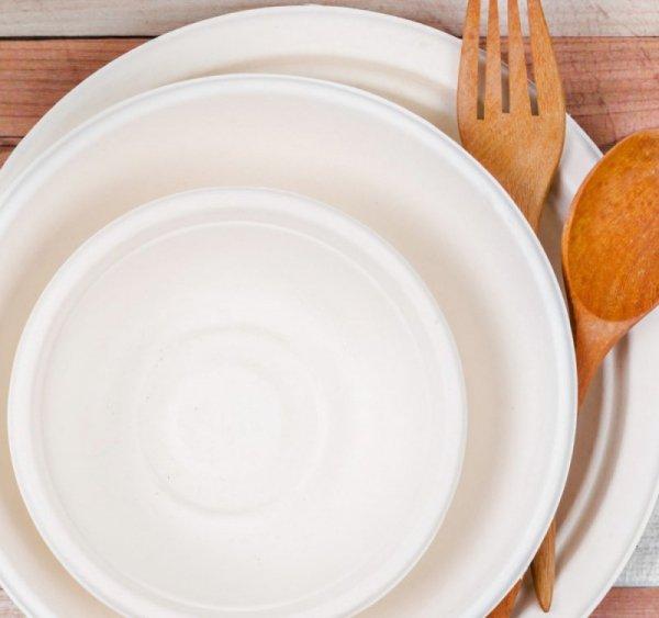 Miska z trzciny cukrowej okrągła 350ml, 50szt