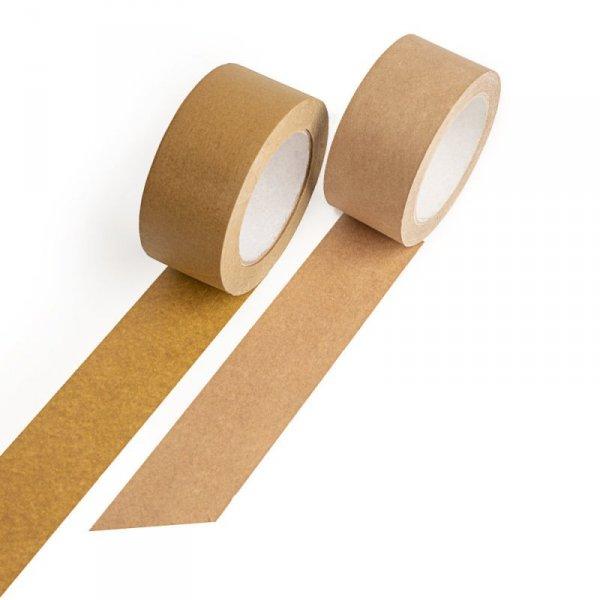 Taśma pakowa papierowa ECO 50mm/50m solvent, 1szt