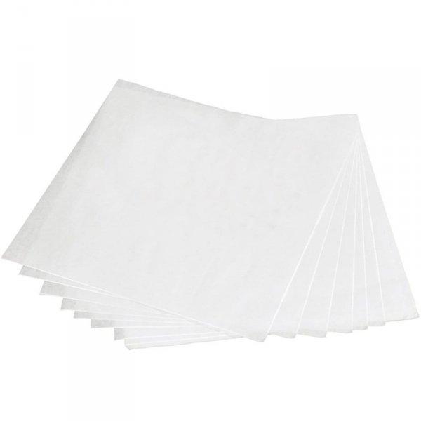 Papier pakowy biały tłuszczoszczelny BIO w arkuszach 30x30cm, 1000szt