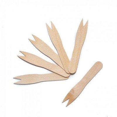 Widelczyk drewniany do frytek 85mm, 200szt