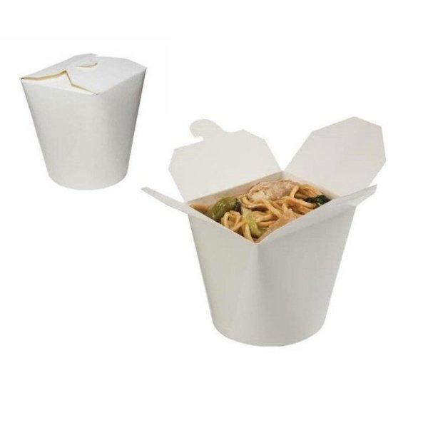 Noodle box biały 450ml, 50szt