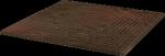Paradyż Semir Brown Stopnica Narożna 30x30