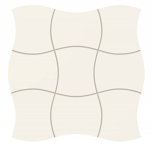 Tubądzin Royal Place White Mozaika 29,3x29,3