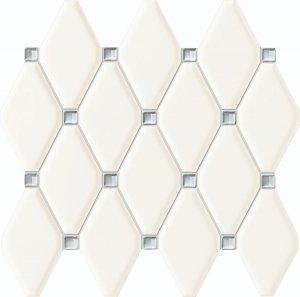Tubądzin Abisso White Mozaika 29,8x27
