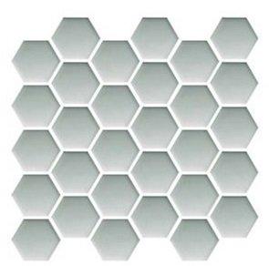 Ceramika Color Platinum Glass Hexagon Mosaic 25x25,8