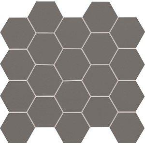 Tubądzin All in White / Grey Mozaika 30,6x28,2