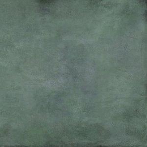 Tubądzin Patina Plate Green MAT 79,8x79,8