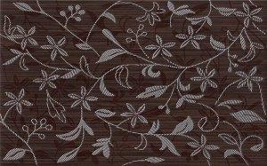 Cersanit Tanaka Brown Inserto Flower 25x40