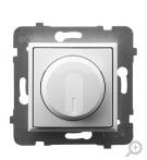 ARIA Ściemniacz uniwersalny do obciążenia żarowego, halogenowego oraz LED biały ŁP-8UL2/m/00