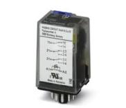 Przekaźnik przemysłowy 3P 10A AgNi 230V AC do gniazda ECOR-3, REL-OR-BL/L-230AC/3X21 /100szt./