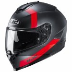 KASK HJC C70 EURA BLACK/RED L