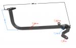 Dźwignia hamulca nożna ATV Mikilon 180 (H)