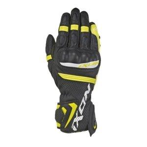 Rękawice sportowe IXON RS TEMPO AIR kolor czarny/fluorescencyjny/żółty