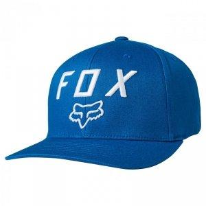 CZAPKA Z DASZKIEM FOX JUNIOR LEGACY MOTH 110 ROYAL BLUE YOS