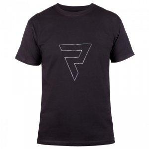 T-SHIRT REBELHORN CASUAL BLACK/GREY L