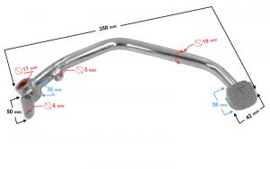 Dźwignia hamulca nożnego do motoroweru Ranger Classic (E4)