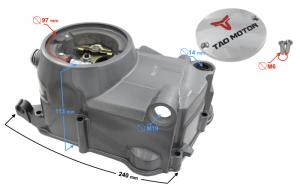 Pokrywa silnika prawa DB27