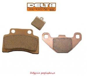 Klocki hamulcowe motocyklowe DELTA DB5050 (odpowiednik FA115)