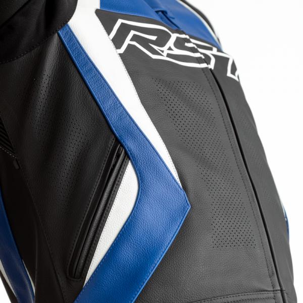 KURTKA SKÓRZANA RST TRACTECH EVO 4 CE BLACK/BLUE L (2357)