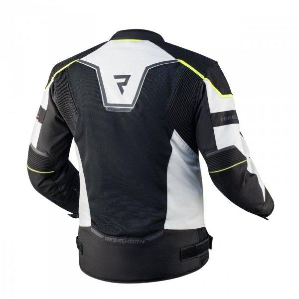 KURTKA TEKSTYLNA REBELHORN HIFLOW IV BLACK/SILVER/FLO YELLOW XS