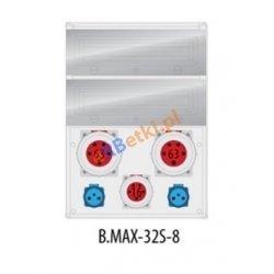 Rozdzielnica MAX BOX-32S 2x63A/5p, 1x16A/5p, 2x230V, IP65