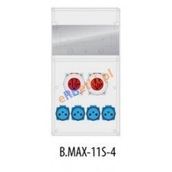 Rozdzielnica MAX BOX-11S 2x16A/5p, 4x230V, IP 65