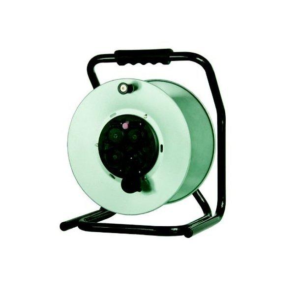 Rozgałęźnik na bębnie metalowym Ø 300, 4xGZ16A (250V), IP 44 B.1120-R IP44
