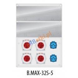 Rozdzielnica MAX BOX-32S 4x16/5p, 2x230Vz, IP65