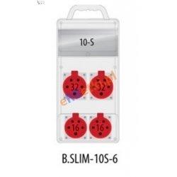 Rozdzielnica R-BOX SLIM 10S 2x32A/5p, 2x16A/5p, IP44