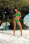 Kostium kąpielowy Brittany Palm Green M-393 (9)