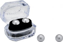 Seven Creations Ben-Wa Metalowe Kulki małe srebrne